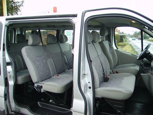 Minibus rental in Estonia - Opel Vivaro (8+1) II