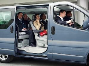 Sõiduautode, väikebusside ja kaubikute rent